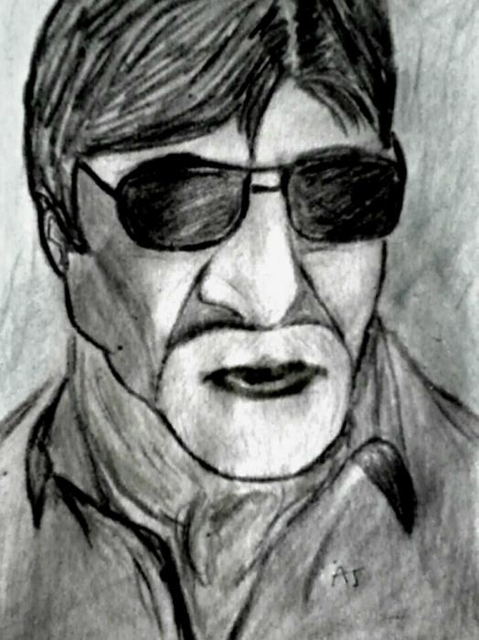 Amitabh Bachchan by AvinashJhaAnshu